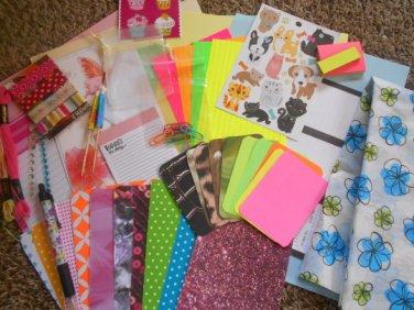 Basic Friendship kit, snail mail kit happy mail kits happy mail and penpal supplies