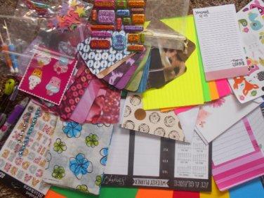 Medium snail mail friendship kit pen pal supplies penpal kit happy mail supplies