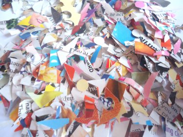 Messy Confetti paper confetti recycled paper confetti bulk confetti party supplies