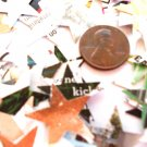 Star confetti recycled paper confetti party supplies wedding supplies confetti stars
