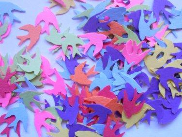 colorful bird confetti party supplies paper confetti wedding supplies