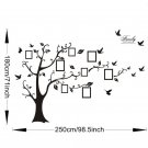 Black Photo Frame Tree Stickers Picture Black Tree Wall Stickers Home Bar Decor
