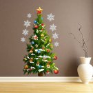 Large Christmas Tree Wall stickers Window Decal Mural Removable Vinyl Home Decor