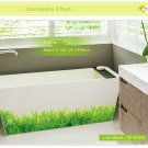 DIY Removable Wall Stickers Home Bedroom Green Grass Vinyl Decal Art Decor