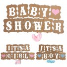 Great Baby Shower Banner Married Wedding Party Bunting Photo Props Hanging Decor