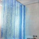 "3D Water Cube Design Bathroom Shower Curtain Waterproof Fabric w/12 Rings 70.86"""