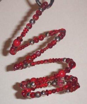 Cherry Spiral Bracelet