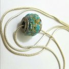 Bullet casing gemstone wheel charm turquoise amd amber price drop limited time