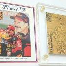 Ernie Irvan collectors bronze card
