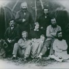 Prisoners in Abyssinia 1867. Tewodros' captives. - 8x10 photo
