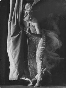 Josephine Baker, actress.  - 8x10 photo