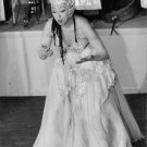 Josephine Baker puckering.  - 8x10 photo