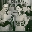 Carole Landis guest star on an all-star radio program, Command Performance. - 8x