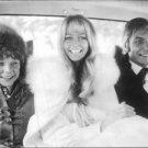 Gunter Sachs and Mirja Larsson in a car. - 8x10 photo