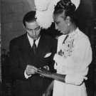 Josephine Baker, French dancer.  - 8x10 photo