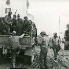 World War II. U.S. trops capture Germans in Italy - 8x10 photo