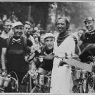 Josephine Baker in 30th round France race. - 8x10 photo