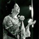 Umm Kulthum smiling. - 8x10 photo