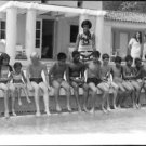 Twelve adopted children by Josephine Baker.  - 8x10 photo