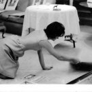 Jacqueline Kennedy Onassis working in house.  - 8x10 photo