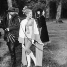 Jane Fonda enjoying archery with friends.  - 8x10 photo