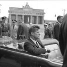 John F. Kennedy in a car. - 8x10 photo