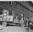 World War II. Allied food for Greek civilians - 8x10 photo