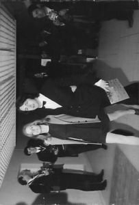 Paul and Linda McCartney standing. - 8x10 photo