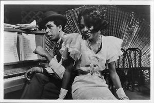 Diana Ross and Richard Pryor. - 8x10 photo