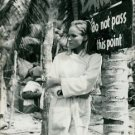 Portrait of Ursula Anderss. - 8x10 photo