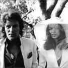 Binaca Jagger with man. - 8x10 photo