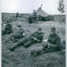 Soldiers in a camp - 8x10 photo