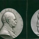 A portrait carving of Major General Viktor Balck - 8x10 photo