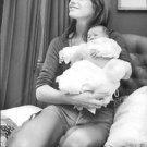 Jane Birkin with baby. - 8x10 photo