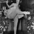 Ludmilla Tcherina displaying her ballet dance moves. - 8x10 photo