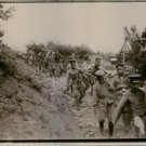 Soldiers in Germany moving while carrying casualties. 1904  - 8x10 photo