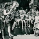 World War II. Re-education through music - 8x10 photo