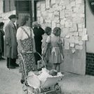 World War II. Seeking jobs, news? - 8x10 photo