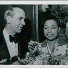 Josephine Baker with Karl Gerhard in Stockholm 1938. - 8x10 photo