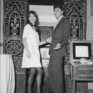 Paul and Talitha Getty posing. - 8x10 photo