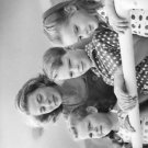 Ingrid Bergman and children - 8x10 photo