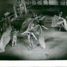 Grand Ballet du Marquis de Cuevas performs at the stage.Photo taken Nov 1, 1960