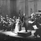 Maria Callas while performing. - 8x10 photo