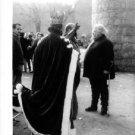 Orson Welles listening. - 8x10 photo