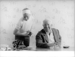 Jean Gabin smiling.  - 8x10 photo