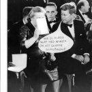 John F. Kennedy communicate with lady. - 8x10 photo