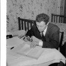 Jean Louis Barrault reading. - 8x10 photo