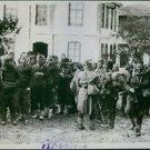 Balkan War 1913-12Turkish deserters and vagrants in Lule Burgas 1912 - 8x10 pho