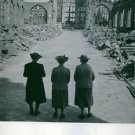 Three women in Coventry. - 8x10 photo