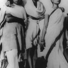 Mahatma Gandhi with females - 8x10 photo